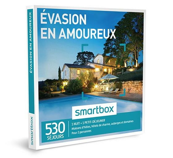 Id e cadeau s lection coffrets smartbox sp ciale saint - Coffret smartbox table et chambre d hote ...