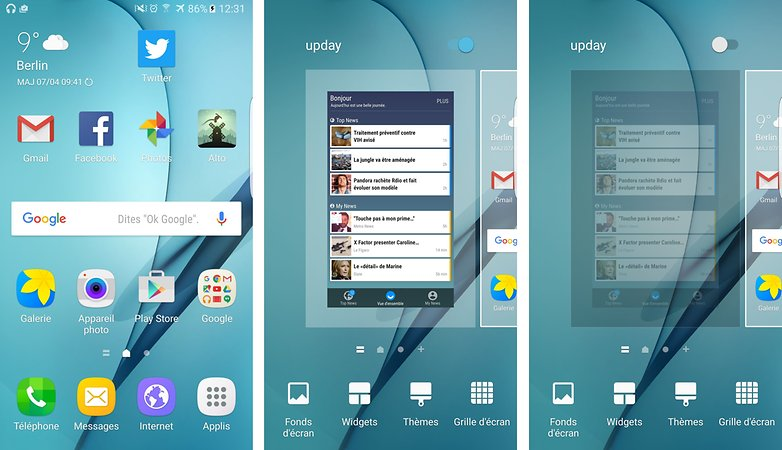 comment desactiver tiroir lateral flipboard samsung galaxy android 6 0 marshmallow images 00