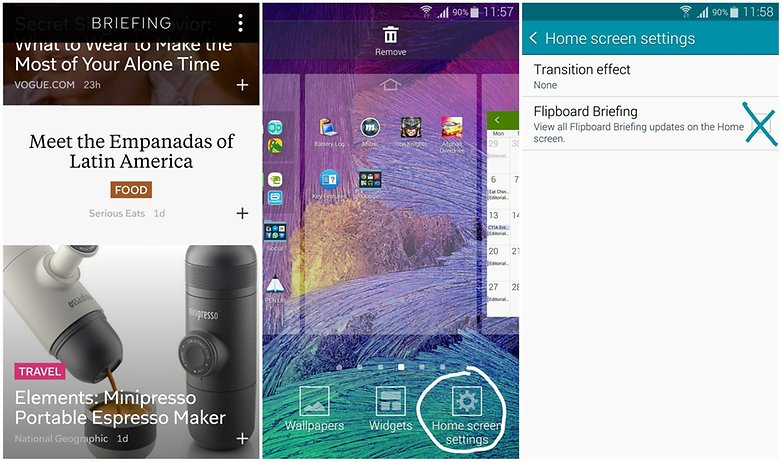 comment desactiver tiroir lateral flipboard samsung galaxy android 5 1 lollipop image 00