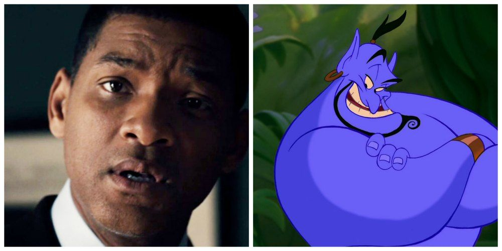Will Smith Génie Aladdin