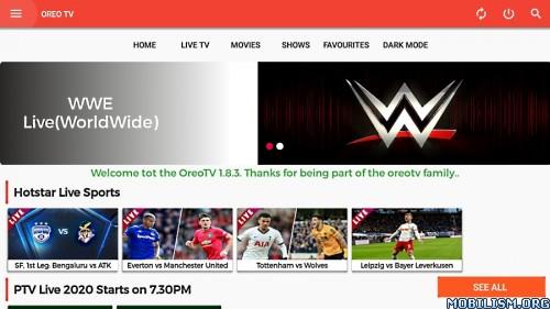 OREO TV v1.8.5 [Official]