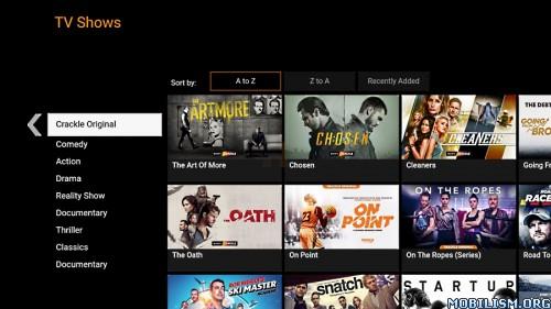 Crackle v7.8.0.3 [Firestick] [Android TV] [Dual Mods]