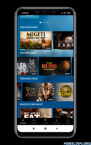 MagellanTV Documentaries v1.1.8 [Subscribed] + Android TV