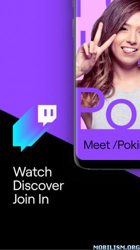 Twitch: Livestream Multiplayer Games & Esports v9.6.0 [Final][Ad-Free]