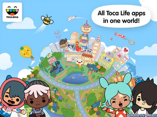 Toca Life: World v1.24.1 (Unlocked)