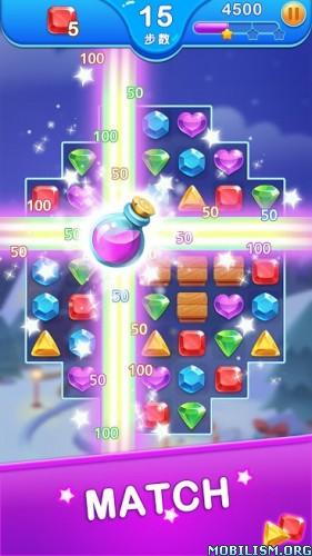 Jewel Blast Dragon - Match 3 Puzzle v1.18.4 [Mod]