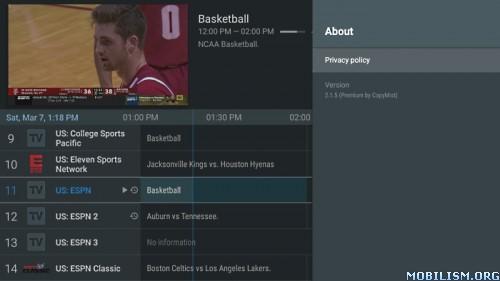 TiviMate IPTV Player v2.8.0 [Premium]