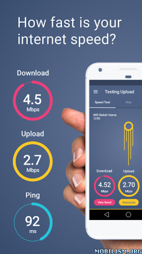 Meteor: Speed Test for 3G, 4G, Internet & WiFi v1.22.2-1