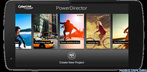 PowerDirector - Video Editor App v7.3.2 build 89153 [Unlocked]