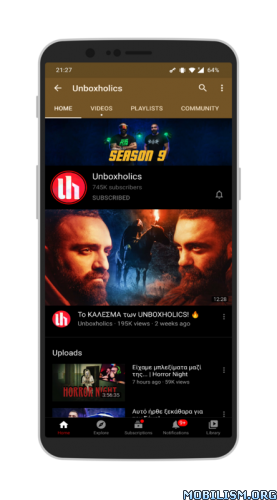 YouTube Vanced v15.38.35 [NO ROOT] [Final] [SAP]