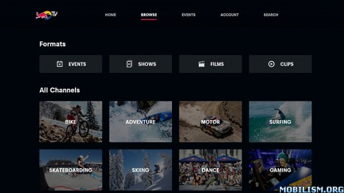 Red Bull TV v4.5.8.7 [Firestick] [Android TV] [Ad-Free] [SAP]