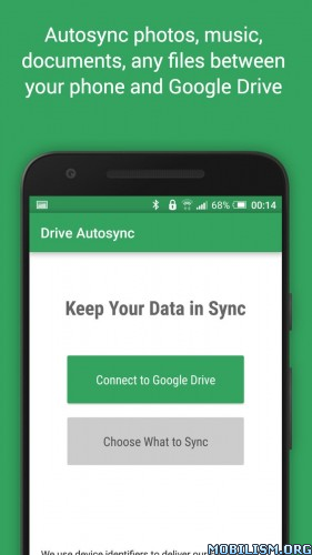 DriveSync - Autosync for Google Drive v4.4.26 [Ultimate]