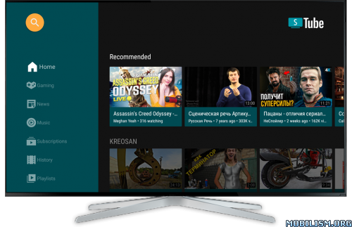 SmartTube Next v7.1 [Beta] [No ADS] [No ROOT] [Android TV]