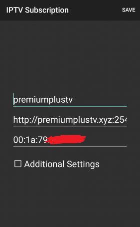 premiumplustv IPTV server MACS + IPTV Player v1.34 [Pro]
