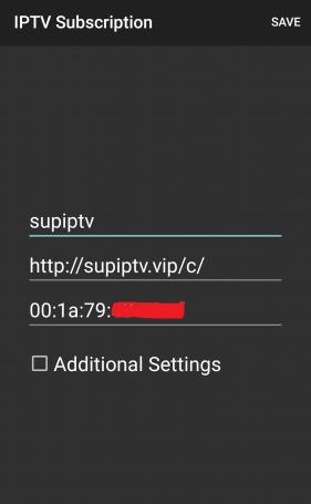 SUP IPTV server MACS + IPTV Player v1.34 [Pro]