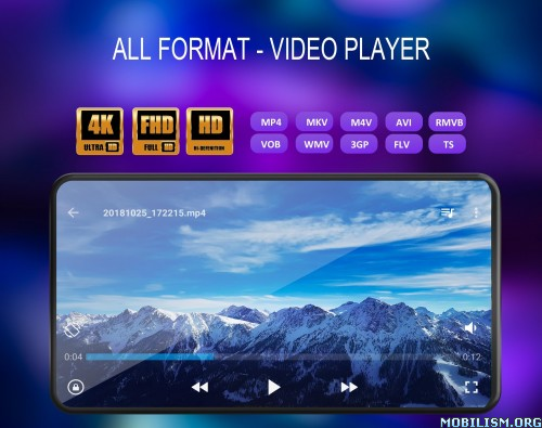 Video Player All Format v1.8.5 [Premium] [Mod] [Lite]