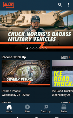 Blaze TV v1.8 [UK Service] [Mod]