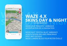 Waze Skins 2019 Day Night LeSScro