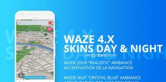Waze Skins 2019 Day Night LeSScro