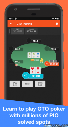 dm559H6ZJ5 - Postflop+ GTO Poker Trainer For No Limit Holdem v2.3.2 [Pro]