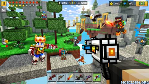 Pixel Gun 3D (Pocket Edition) v18.2.0 [Mod Ammo]