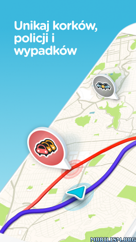 dm5YMMZGFL - Waze - GPS, Maps, Traffic Alerts & Live Navigation v4.68.0.1 [Beta]