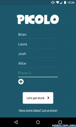 Picolo Drinking Game v1.21.0 (Premium Unlocked)
