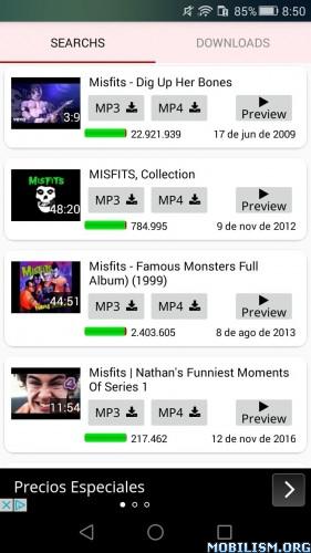 YT3 Music & Video Downloader v4.0 build 185 [Ad-Free]