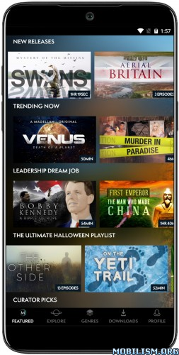 dm7XO2A2LP - MagellanTV Documentaries v1.1.35 [Subscribed] [Android TV]