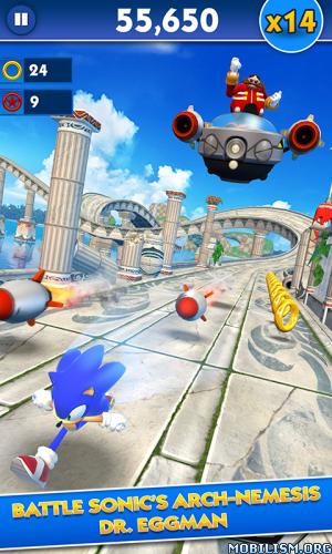 dmXDR0ENES - Sonic Dash v4.15.2 [Mod]