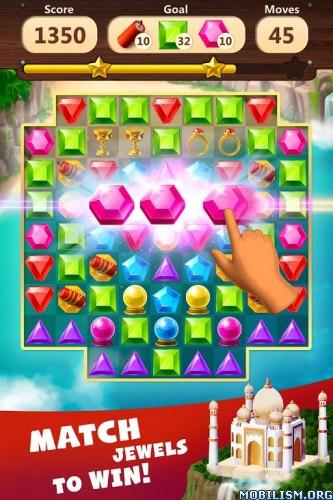 dmYJ6ZXRAZ - Jewels Planet - Free Match 3 & Puzzle Game v1.2.10 [Mod Money]