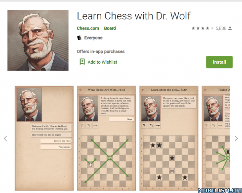 dmIZ4I9O0J 490x391 - Learn Chess with Dr. Wolf v1.10.1 [Subscribed]