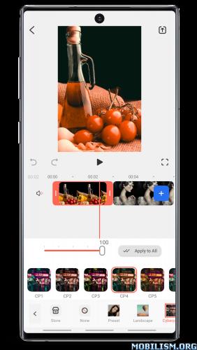 dmNFEA55IT - FilmoraGo - Video Editor v5.1.0 [Unlocked] [Mod Extra]