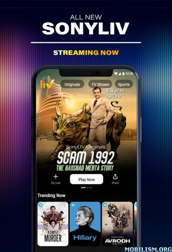 dmE6VL31TR - SonyLIV: Originals, Hollywood, LIVE Sport, TV Show v6.10.4 [Mod]