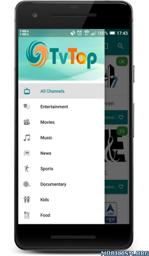 dmIJOK - TVTAP Pro Android Phone & Tablet v2.5 [Ad-Free]