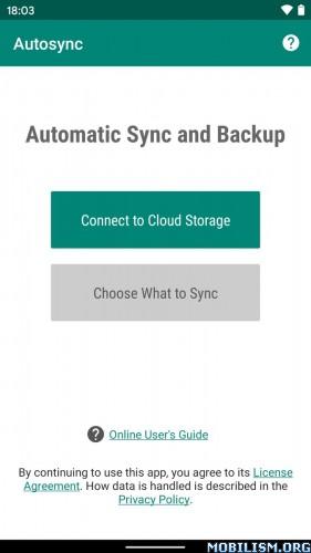 dmNECV - Autosync - Universal Cloud Sync & Backup v0.9.65 [Ultimate] Proper