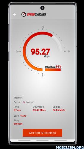 Internet and Wi-Fi Speed Test v2.6.52 [Premium] [Mod Extra]