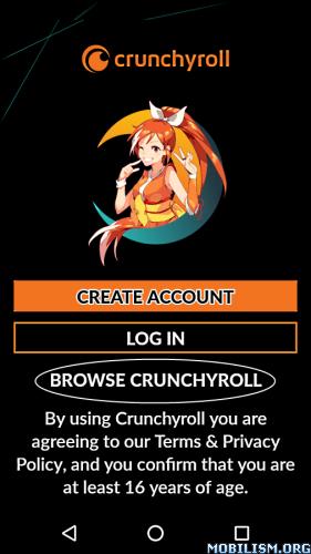 Crunchyroll v3.5.0 build500 [Mobile] [Mod]