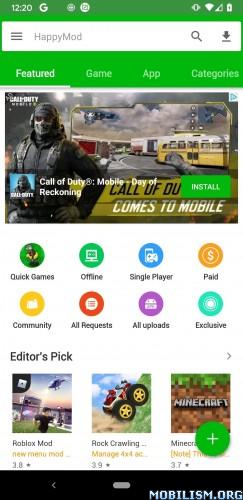 HappyMod v2.7.2a [Ad-Free] [Mod]