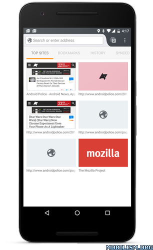 Firefox Browser fast & private v68.11.0 [Mod]