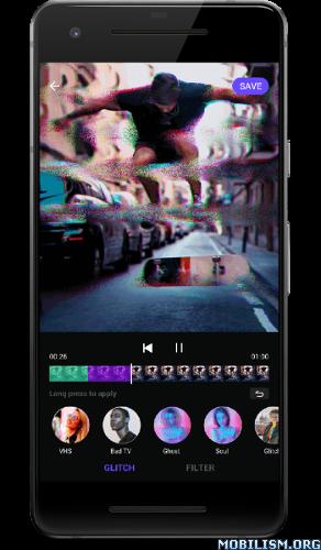Video Editor - Glitch Video Effects v2.2.1.1 [Pro]